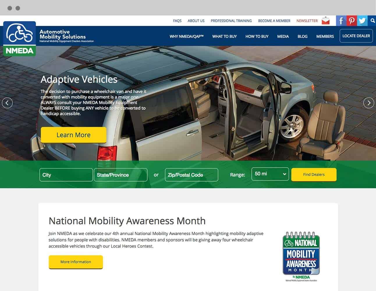 nmeda home page