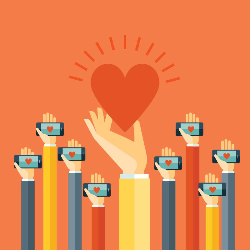 Your non-profit advertising dollars go far on social media
