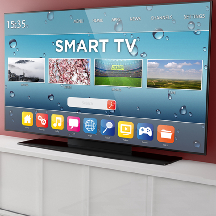 Smart TVs can take in-home advertising to the next level.