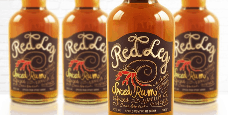 Red Legged Spiced Rum