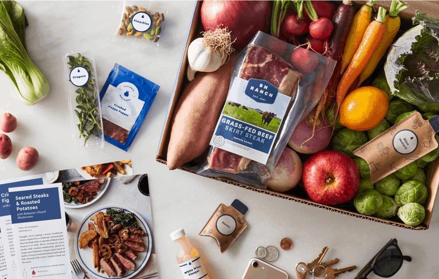 Blue Apron Subscription Service